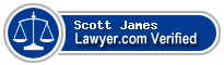 Scott Harold James  Lawyer Badge