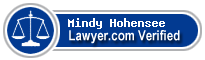 Mindy Lee Hohensee  Lawyer Badge