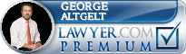 George Joseph Altgelt  Lawyer Badge