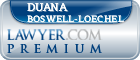 Duana Jenise Boswell-loechel  Lawyer Badge
