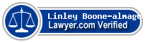 Linley Rebecca Boone-almaguer  Lawyer Badge