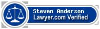 Steven James Anderson  Lawyer Badge