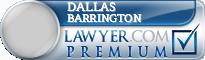 Dallas Jackson Barrington  Lawyer Badge