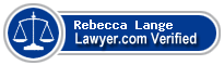 Rebecca Dyann Donald Lange  Lawyer Badge