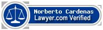 Norberto Cardenas  Lawyer Badge