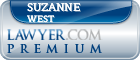Suzanne Jost West  Lawyer Badge