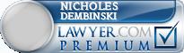 Nicholes David Dembinski  Lawyer Badge