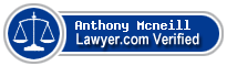 Anthony Joseph Mcneill  Lawyer Badge