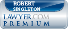 Robert Tucker Singleton  Lawyer Badge
