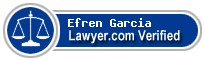 Efren Garcia  Lawyer Badge