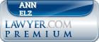 Ann Elizabeth Elz  Lawyer Badge