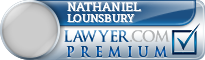 Nathaniel Hardwicke Lounsbury  Lawyer Badge