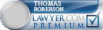 Thomas Ross Roberson  Lawyer Badge