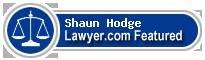 Shaun Wesley Hodge  Lawyer Badge