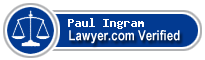 Paul Richard Ingram  Lawyer Badge