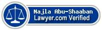 Najla Ahmed Abu-Shaaban  Lawyer Badge