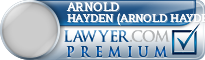 Arnold Keith Hayden (Arnold Hayden)  Lawyer Badge