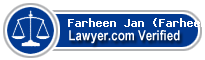 Farheen Sohail Jan (Farheen)  Lawyer Badge