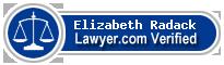 Elizabeth Eleanor Gardner Radack  Lawyer Badge