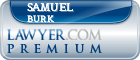 Samuel Lloyd Burk  Lawyer Badge