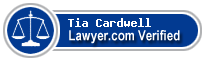 Tia K. Cardwell  Lawyer Badge