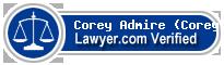Corey Leeann Admire (Corey)  Lawyer Badge