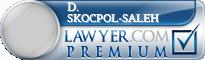 D. Kristine Skocpol-saleh  Lawyer Badge