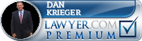 Daniel Allen Krieger  Lawyer Badge