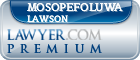 Mosopefoluwa Lawson  Lawyer Badge