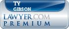 Ty Alexander Gibson  Lawyer Badge