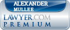 Alexander William Mullee  Lawyer Badge