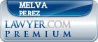 Melva Perez  Lawyer Badge