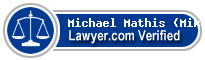 Michael Bryant Mathis (Mike)  Lawyer Badge