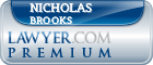 Nicholas Stanhope Brooks  Lawyer Badge