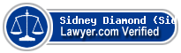 Sidney Joseph Diamond (Sid)  Lawyer Badge