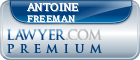 Antoine Leonard Freeman  Lawyer Badge