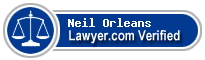 Neil Jeffrey Orleans  Lawyer Badge