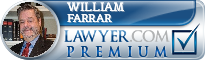 William Dean Farrar  Lawyer Badge