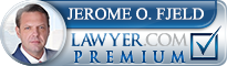 Jerome O. Fjeld  Lawyer Badge