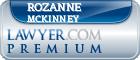 Rozanne Moore Mckinney  Lawyer Badge