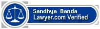 Sandhya Banda  Lawyer Badge