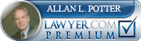Allan Leslie Potter  Lawyer Badge