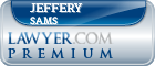 Jeffery Curtis Sams  Lawyer Badge