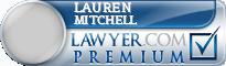 Lauren Woodard Mitchell  Lawyer Badge