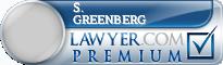 S. Louis Greenberg  Lawyer Badge