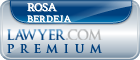 Rosa M. Berdeja  Lawyer Badge