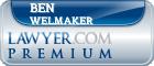Ben Harold Welmaker  Lawyer Badge