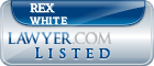 Rex White Lawyer Badge