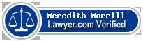 Meredith Katherine Morrill  Lawyer Badge