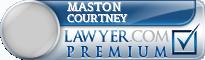 Maston C. Courtney  Lawyer Badge